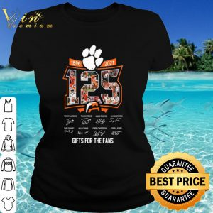 Best 125 Years Of 1896 2021 Gifts For The Fans Signatures shirt
