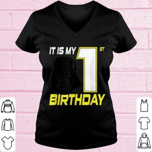 Awesome Star Wars Darth Vader 1st Birthday shirt