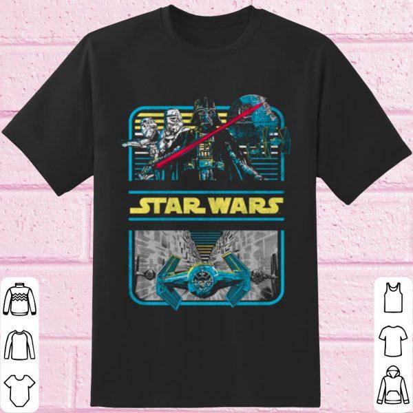 Pretty Star Wars Darth Vader & Crew Double Framed shirt