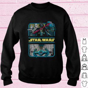 Pretty Star Wars Darth Vader & Crew Double Framed shirt 2