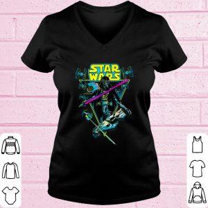 Pretty Star Wars Darth Vader Battle Vintage Retro shirt 1