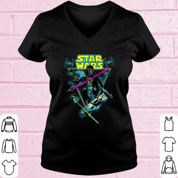 Pretty Star Wars Darth Vader Battle Vintage Retro shirt