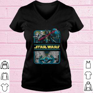 Pretty Star Wars Darth Vader & Crew Double Framed shirt 1