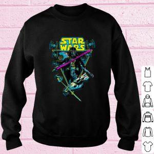 Pretty Star Wars Darth Vader Battle Vintage Retro shirt 2