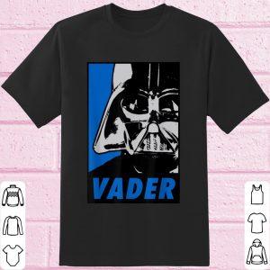 Awesome Star Wars Darth Vader Blue Tonal Propaganda shirt
