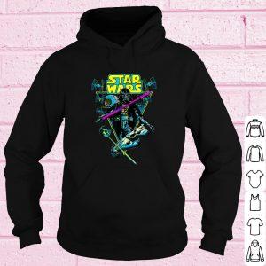 Pretty Star Wars Darth Vader Battle Vintage Retro shirt 3