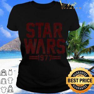 Pretty Star Wars 1977 Darth Vader Silhouette shirt 1