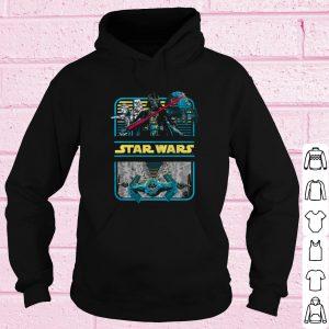 Pretty Star Wars Darth Vader & Crew Double Framed shirt 3