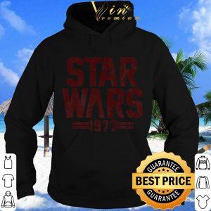 Pretty Star Wars 1977 Darth Vader Silhouette shirt 3