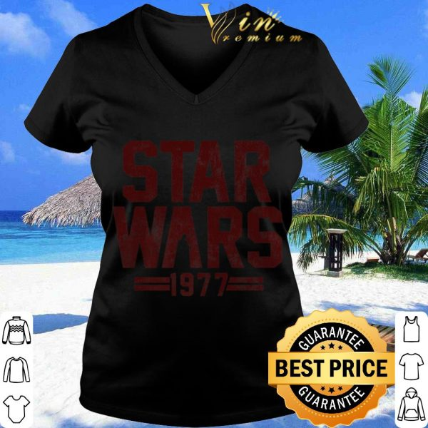 Pretty Star Wars 1977 Darth Vader Silhouette shirt