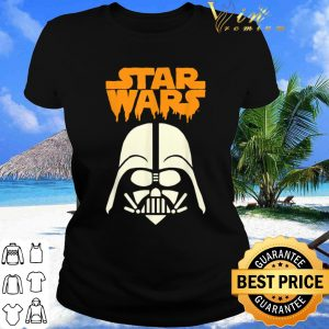 Awesome Star Wars Darth Vader Dripping Ooze Logo Halloween shirt