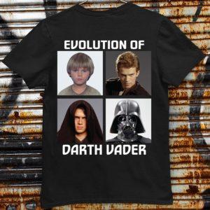 Awesome Evolution of Darth Vader Star Wars shirt