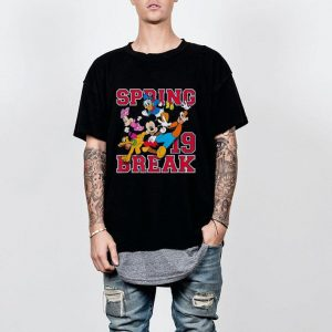 Disney Mickey Mouse and Friends Spring Break 2019 shirt