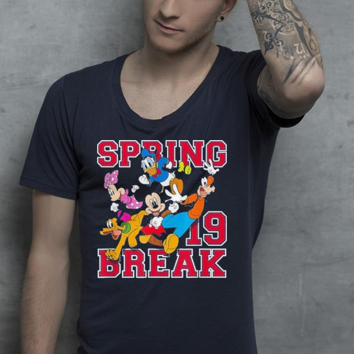 Disney Mickey Mouse and Friends Spring Break 2019 shirt 4 - Disney Mickey Mouse and Friends Spring Break 2019 shirt