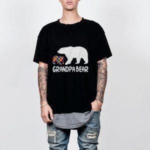 Grandpa Bear Autism Awareness shirt