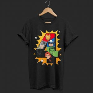 Marvel Avengers Comic Super Heroes shirt