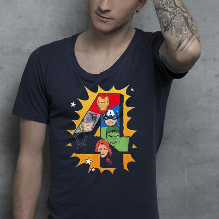 Marvel Avengers Comic Super Heroes shirt 4 - Marvel Avengers Comic Super Heroes shirt
