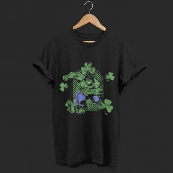 Marvel Incredible Hulk St. Patrick's Day Shamrock shirt