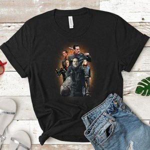 The Walking Dead Negan signature shirt