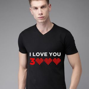 I love you 3000 Heart shirt 1