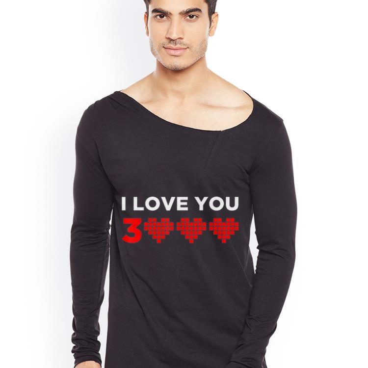 I love you 3000 Heart shirt 4 - I love you 3000 Heart shirt