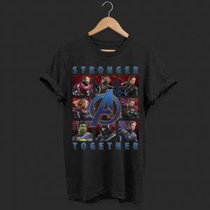 Marvel Avengers Endgame Stronger Together Panel shirt
