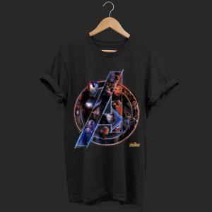 Marvel Avengers Neon Team shirt