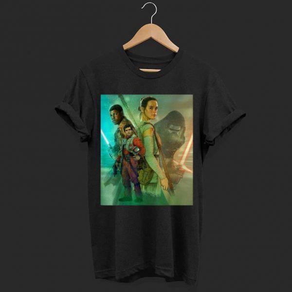 Star Wars Celebration Mural The Force Awakens shirt