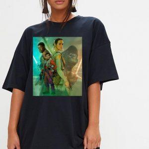 Star Wars Celebration Mural The Force Awakens shirt 2