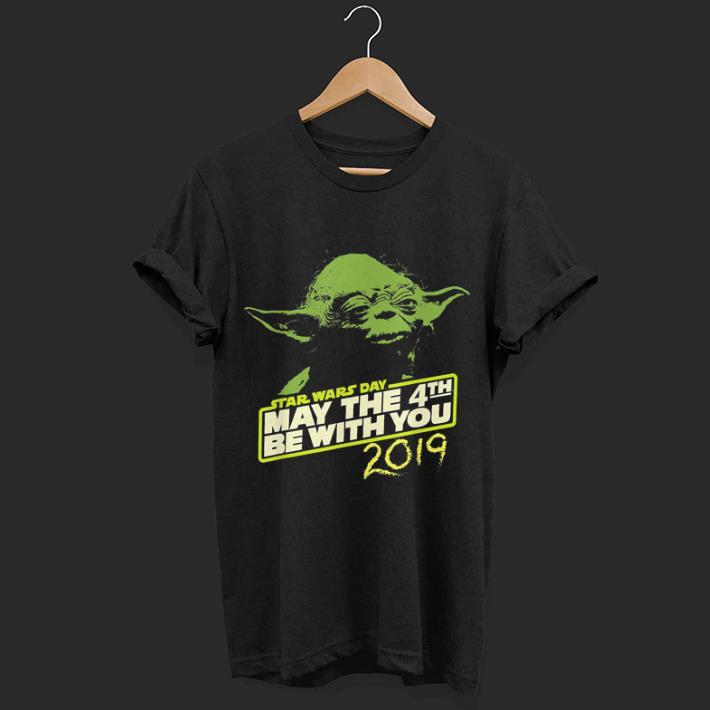 c6ff28c1 Star Wars Day Yoda May the 4th Be With You 2019 shirt, hoodie ...