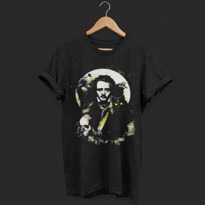 The Raven and The Black Cat Edgar Allan Poe shirt