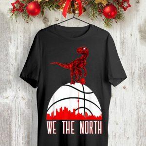 We the north NBA baketball Toronto raptors shirt