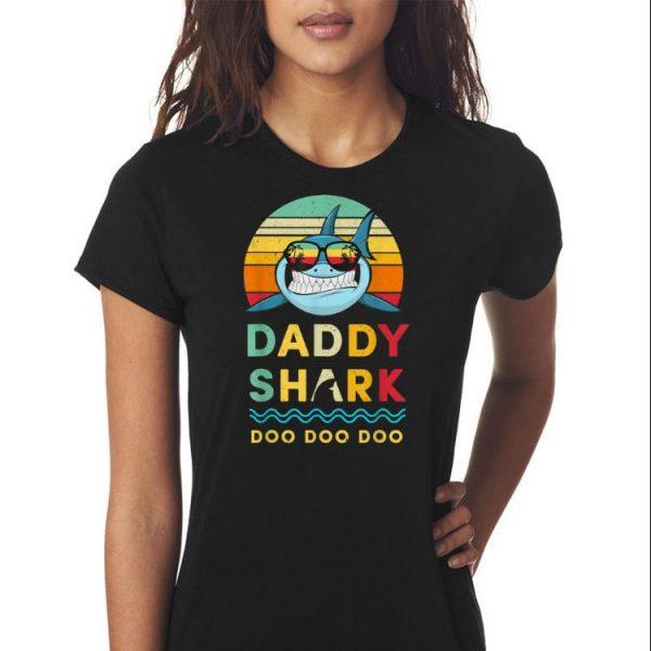 Daddy Shark Doo Doo Doo Fathers Day shirt