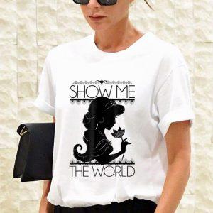 Disney Aladdin Jasmine Show Me The World Silhouette shirt 2