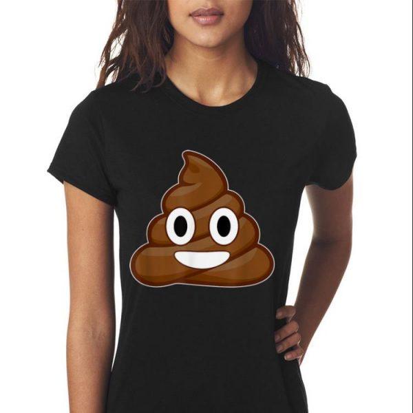Emoji Poop Emoticon Emoji Smiley Face Cartoon shirt