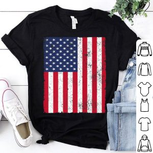 4th July 4 Red White Blue Stars Stripes USA Flag shirt