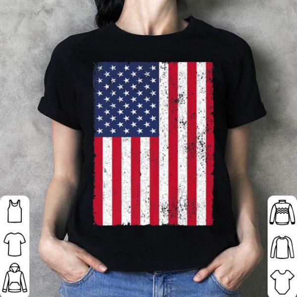 4th July 4 Red White Blue Stars Stripes USA Flag shirt