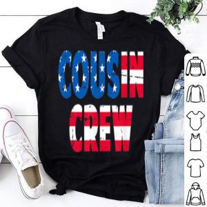 4th Of July Cousin Crew American Flag shirt