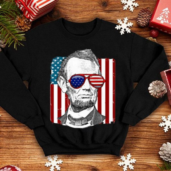 America Usa Abe Lincoln 4th Of Julyboys shirt