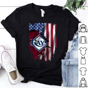 American Flag MLB Mashup Tampa Bay Rays shirt