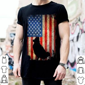 American Flag Pomeranian Dog Lover 4th Of July shirt