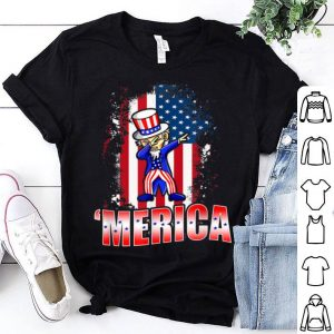 Dabbing Uncle Sam Patriotic 4th July American shirt