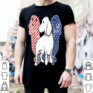 Dachshund Dog America Flag Patriot shirt