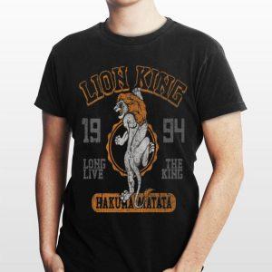 Disney Lion King Simba Varsity 1994 Poster shirt