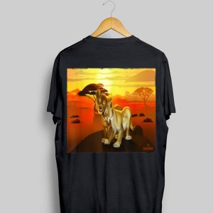 Disney The Lion King Live Action Simba Nala Sunset shirt