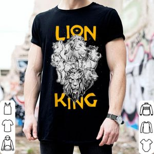 Disney The Lion King Live Action Stacked Group shirt