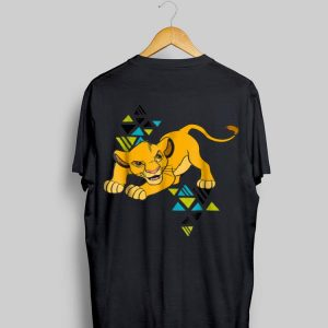 Disney The Lion King Young Simba In Action 90s Retro shirt