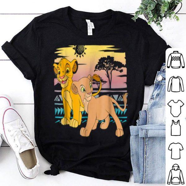 Disney The Lion King Young Simba Nala 90s shirt