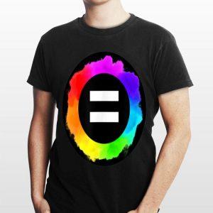 Equal Sign Rainbow Pride Lgbtq shirt