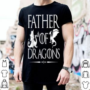 Father of Dragons Father Day Unisex Geeky American Flag shirt